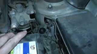 Прокачка топливного фильтра Hyundai Tucson дизель