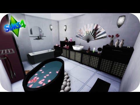 PREPARAMOS UN BAÑO ASIÁTICO PARA DANNAH!!! - #LosFox 21 Sims 4