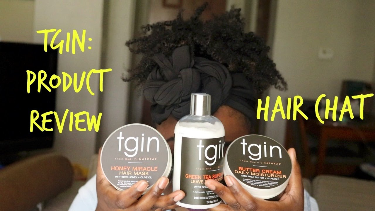 Hair Product Review Tgin On 4b 4c Hair Youtube