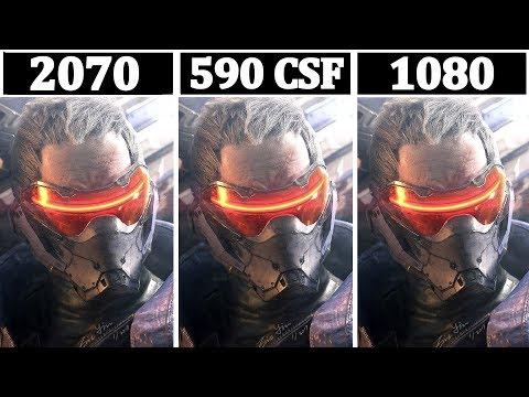 RTX 2070 vs RX 590 Crossfire vs GTX 1080 | Tested 13 Games |