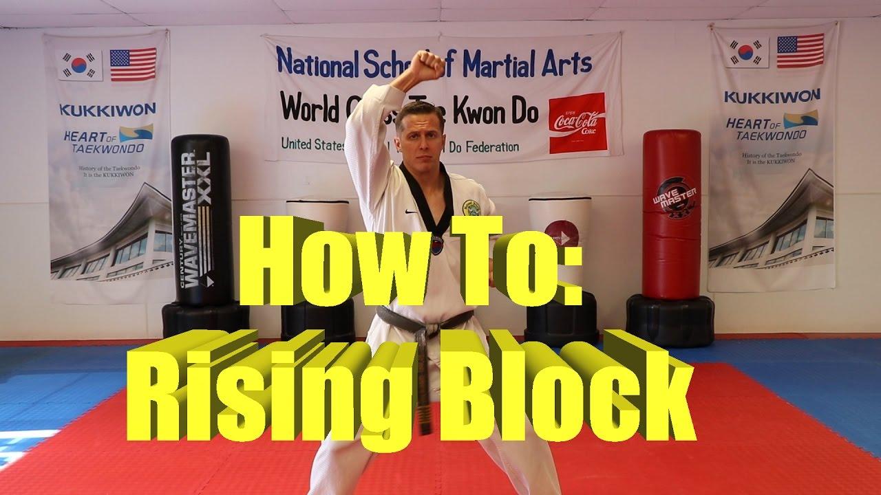 Hand Drills – National School of Martial Arts – Olympic Taekwondo