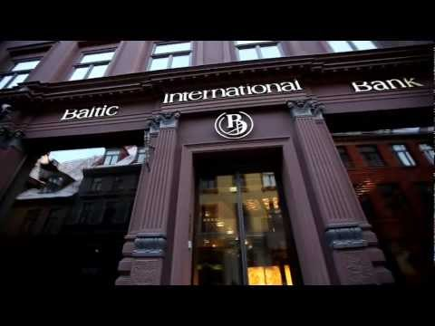 A beautiful video tour into the Baltic International Bank office