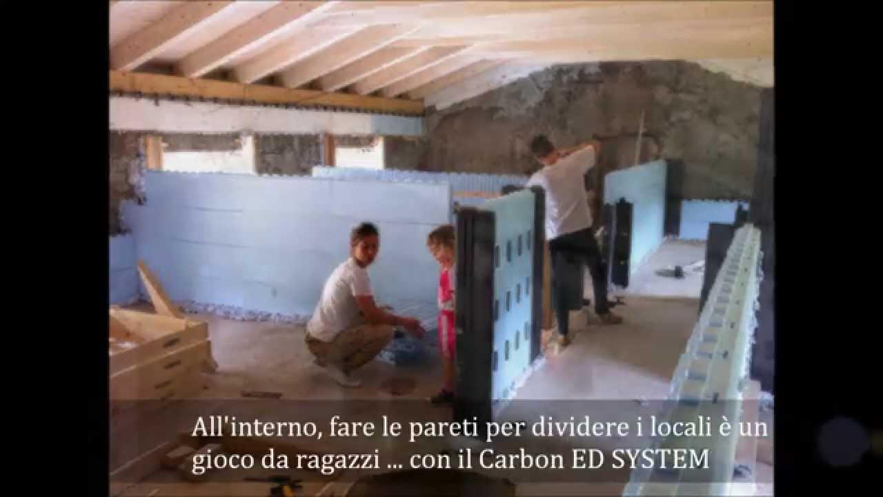 Restaurare un antico casale e portarlo in Classe A con il Carbon ED ...