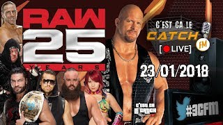 [3CFM LIVE] Les 25 ans de RAW + Preview Royal Rumble Week-End thumbnail