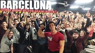 Video La que liamos en mi ciudad BARCELONA | TFB·SPAIN·TOUR (10) download MP3, 3GP, MP4, WEBM, AVI, FLV Agustus 2018