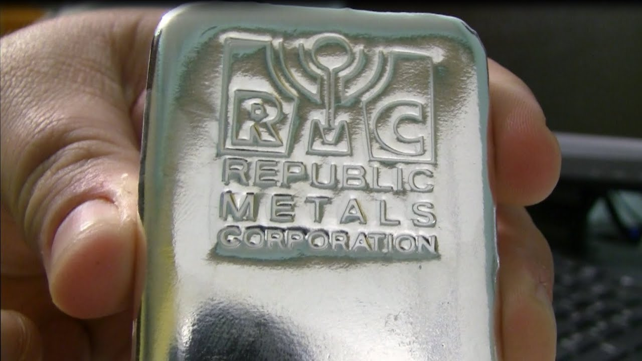 Silver Unboxing Rmc Kilo Silver Bar Youtube
