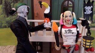 Харли Квинн и Джокер в пиратском форте Часть1