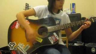 My Heroine Acoustic Cover + TABS!