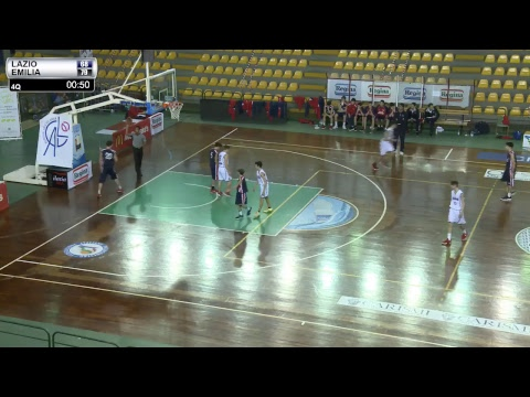 Finale 3° - 4° posto: Lazio - Emilia Romagna