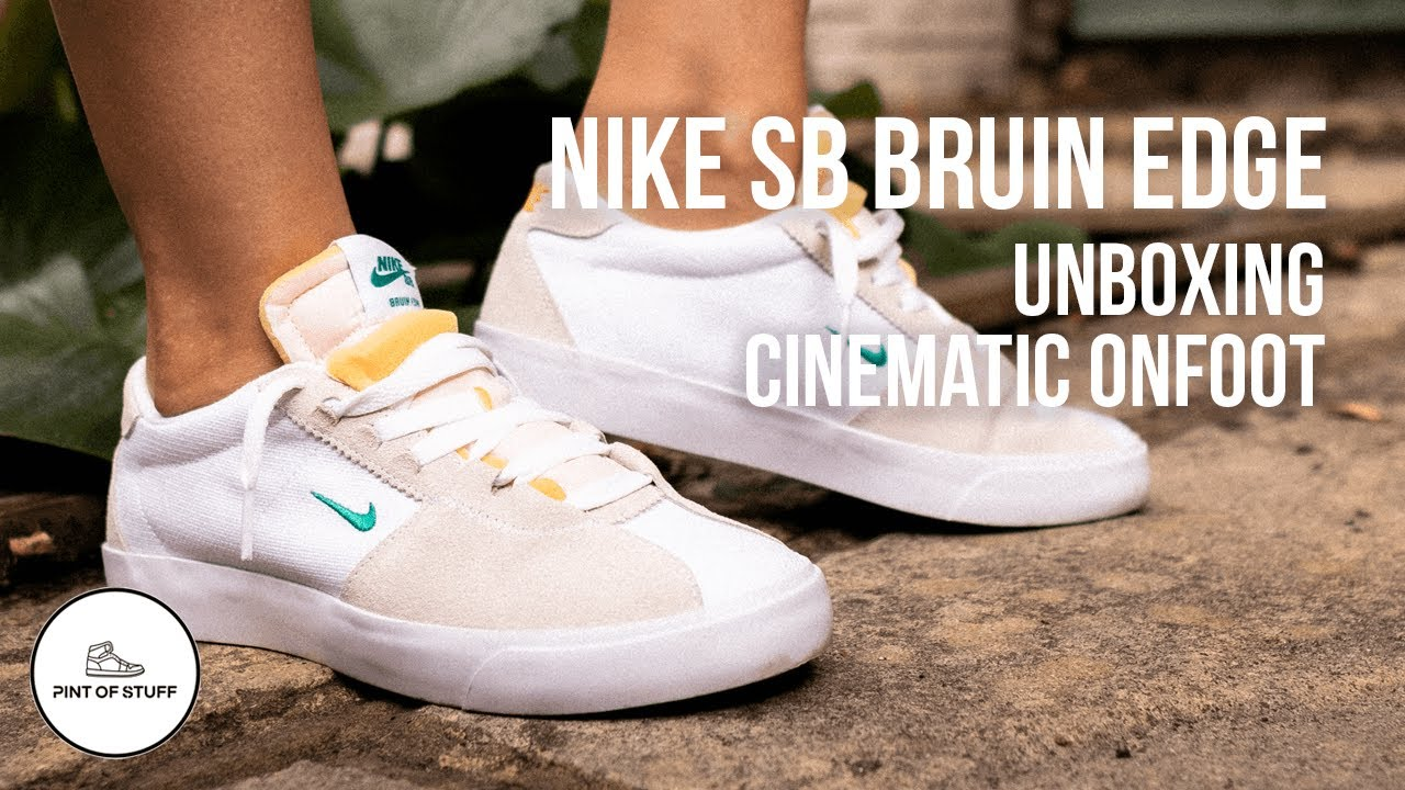 DOUBLE TROUBLE - Nike SB Bruin Edge Unboxing and Cinematic Onfoot Review