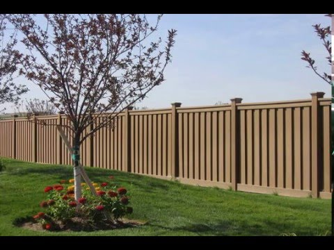 Composite Fence Panels Price Lowest Per Square Foot Youtube
