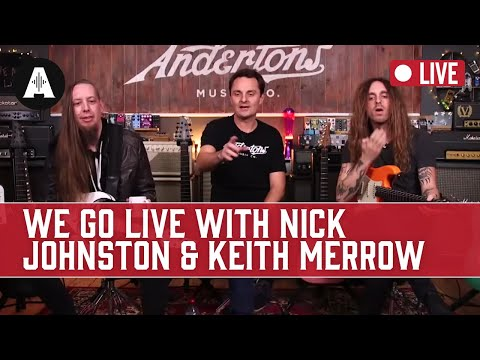 Captain Meets Nick Johnston & Keith Merrow LIVE!!