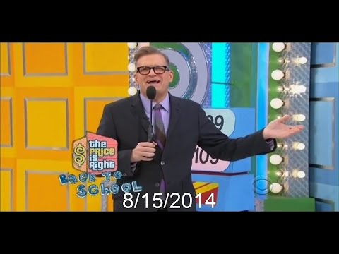 The Price is Right: Back to School (8/15/2014)