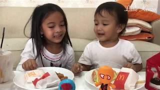 Download Video Drama Anak | Zara Kenzo Makan McDonald saling Berbagi saling Menyayangi MP3 3GP MP4