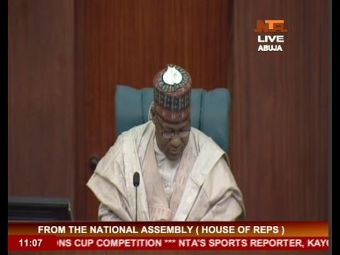 NATIONAL ASSEMBLY (HOUSE OF REPS) 25 FEB 2016