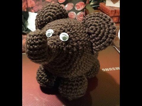 León Amigurumi Tutorial : Elefante amigurumi tutorial uncinetto crochet amigurumi elephant