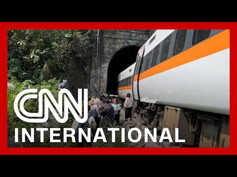 Passenger train carrying derails in Taiwan, killing at least 50