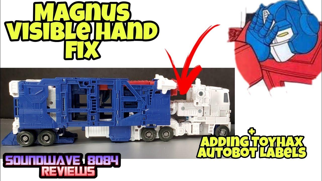 WFC Kingdom Ultra Magnus Visible Hands In Alt. Mode Quick Fix