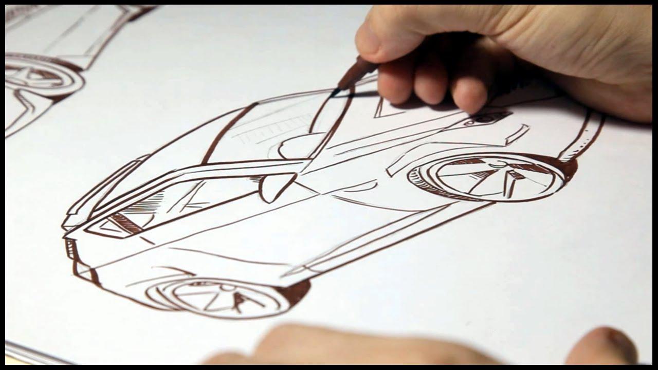 Desenhando Carros How To Draw Cars Youtube