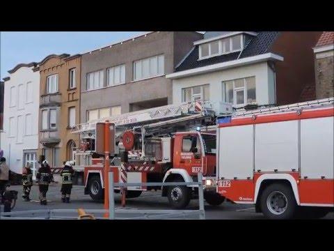brandweer westhoek post veurne schoorsteenbrand feu de cheminee youtube. Black Bedroom Furniture Sets. Home Design Ideas