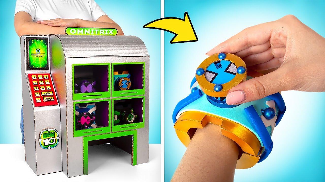 Máquina DIY Omnitrix de Papelão