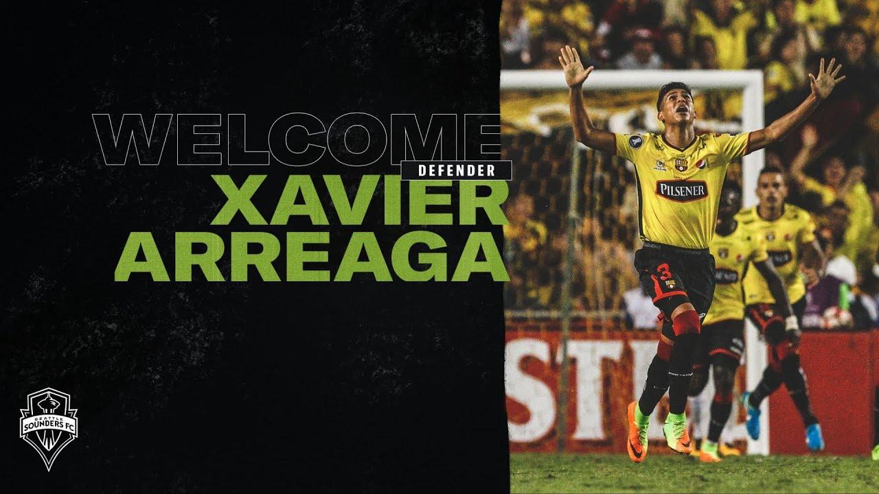 3f32af2d9 Welcome Xavier Arreaga! Seattle Sounders FC
