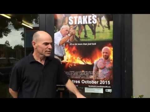 Stakes director Richard Owen visits Cootamundra