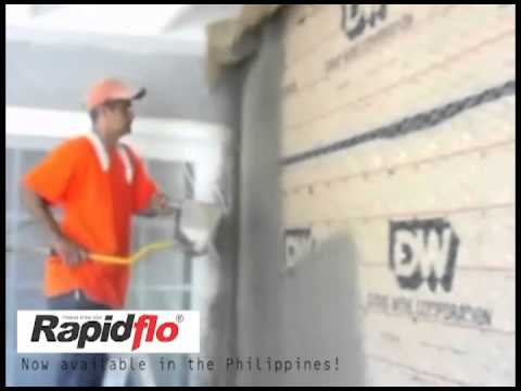 RapidFlo USA Concrete Cement Sprayer (Portable Shotcrete N4-4 Nozzle Series)
