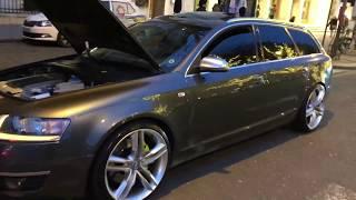Audi A6 familiale qui fait le bruit de la foudre 🌩