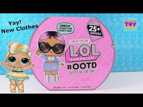 LOL Surprise OOTD Outfit Of The Day Advent Calendar Unboxing | PSToyReviews