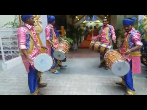 Authentic Punjabi Dhol artists in Chennai...