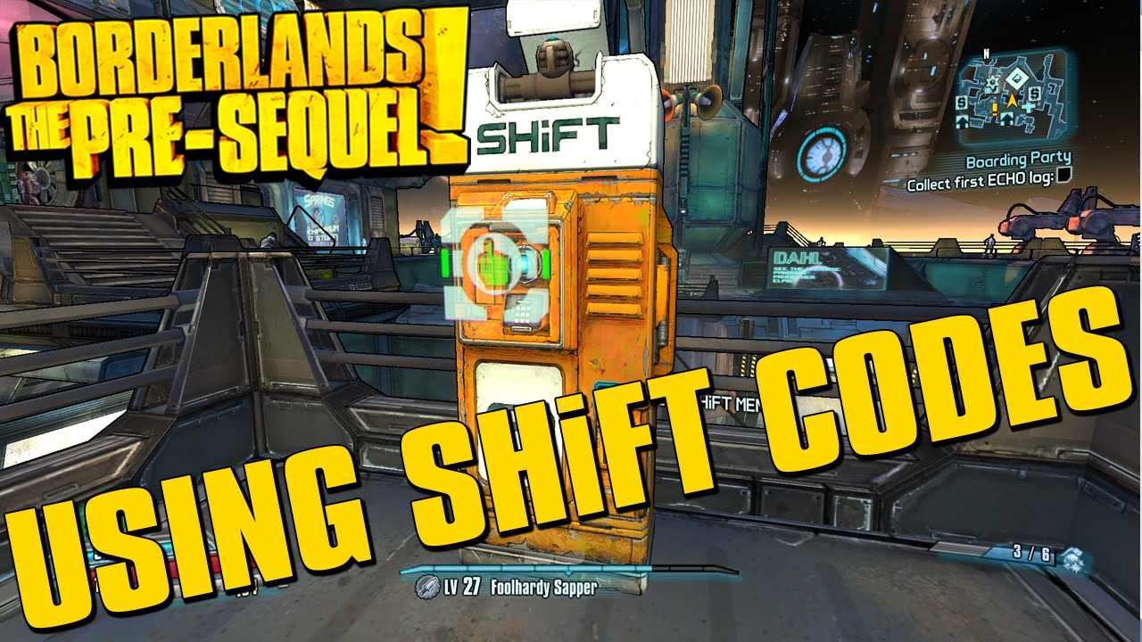 Borderlands The Pre-Sequel Using SHiFT Codes + Golden Key ... Borderlands The Pre Sequel Shift Codes
