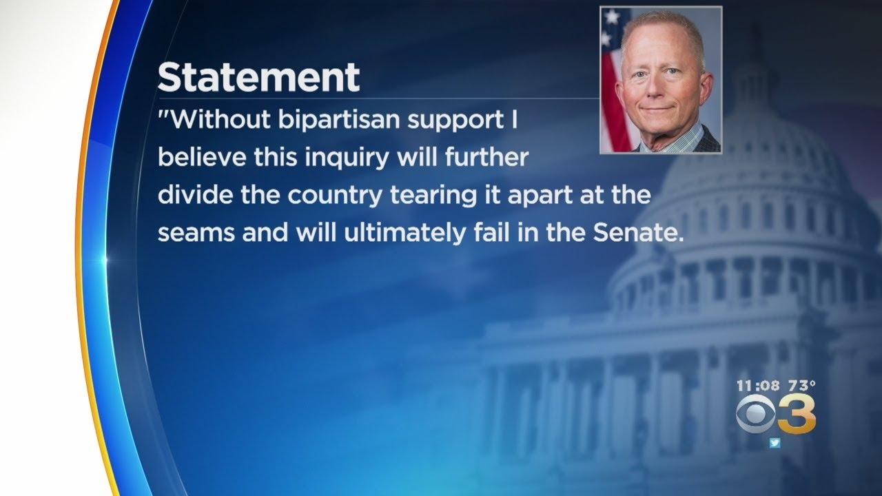 Representative Jeff Van Drew, Anti-Impeachment Democrat, Plans ...