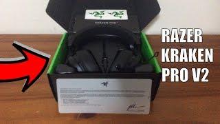 Unboxing My New Razer Kraken Pro V2 Headset (REVIEW)