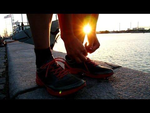 Running Copenhagen in the morning