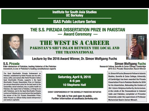 The West is a Career: Pakistan's Shi'i Islam between the local and the transnational