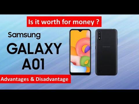 Samsung A01 English