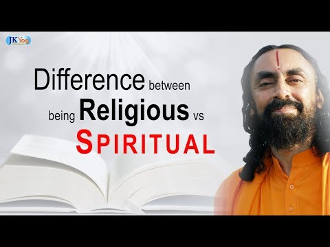 What is the difference between being religious and spiritual? [Q&A with Swami Mukundananda]