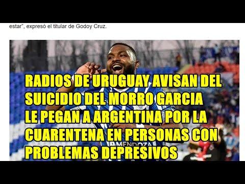 RADIOS URUGUAYAS AVISAN DEL SUICIDIO DEL MORRO, LE PEGAN A ARGENTINA POR LA CUERENTENA EN PERSONAS