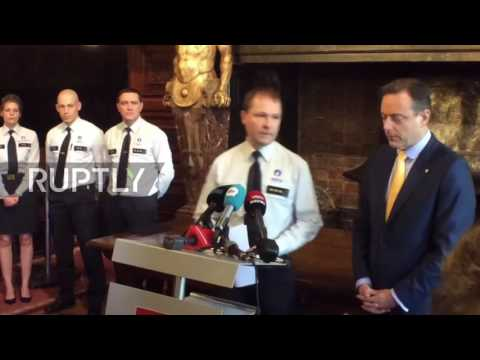Belgium: Police chief and mayor brief press on Antwerp attacker arrest