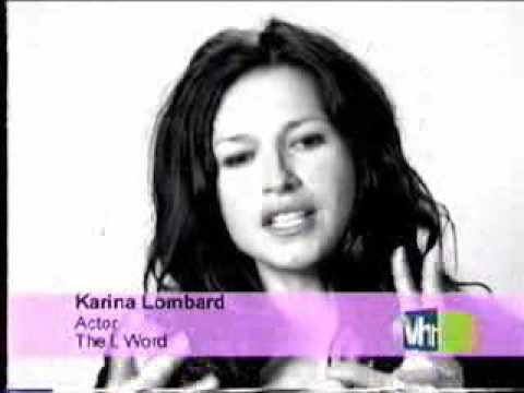 Karina Lombard - The L Word - YouTube