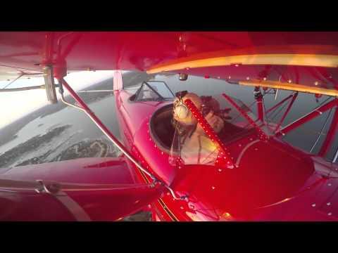 Austin Biplane: Melanie & Andrew