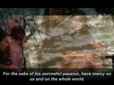Ine mercy chaplet lyrics part v christ addict youtube