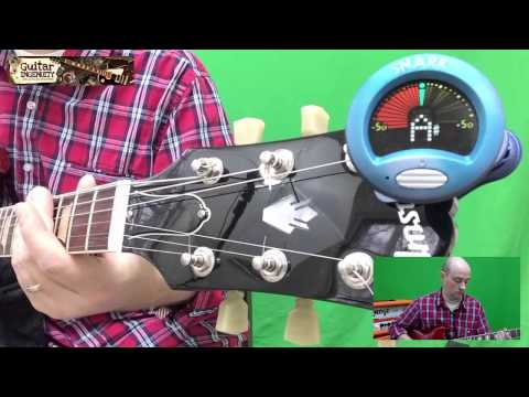 C Standard Tuning Guitar Tutorial Lesson