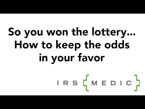 Lottery Winners: How To Lower Your Taxes NOW!