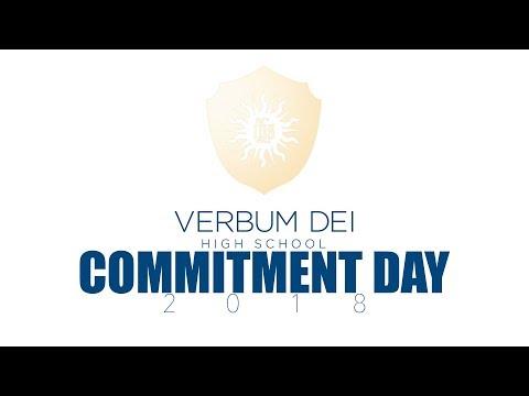 Verbum Dei High School Commitment Day 2018 (LIVESTREAM)