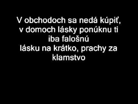 Gladiator - Láska (lyrics)