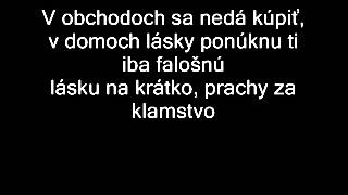 Gladiator - Láska (lyrics)
