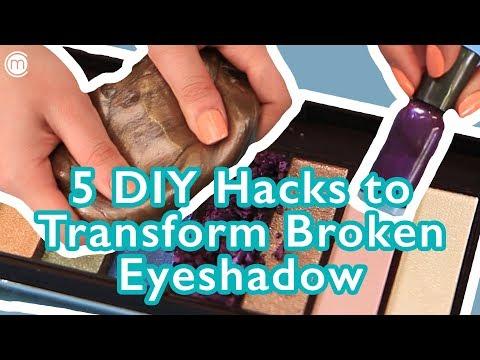 5 DIY Hacks To Transform Broken Eyeshadow