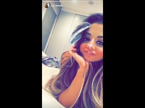 Juli Annee Snapchat SHOWING BOOBS